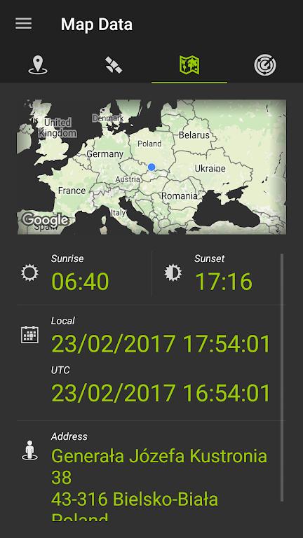 GPS Data  poster 12