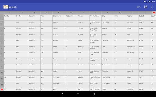 CSV Editor  Screenshots 11