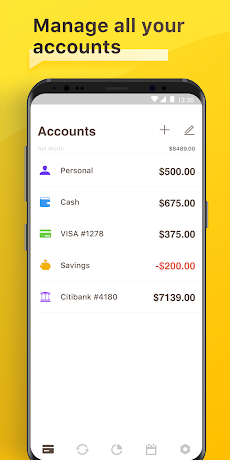 Checkbook - Account Trackerのおすすめ画像1