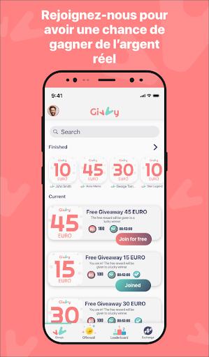 Télécharger Gagnez de l'argent Gratuit avec Givvy!  APK MOD (Astuce) screenshots 1