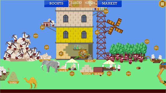 Idle Tower Builder mod apk