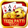 Teen Patti Rich - Best 3 Patti & Rummy & Poker game apk icon