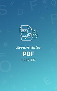Accumulator PDF creator 1