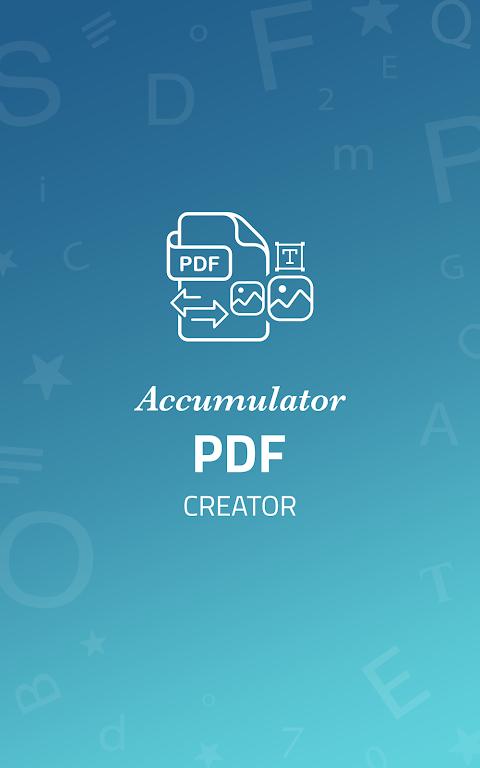 Accumulator PDF creator  poster 0
