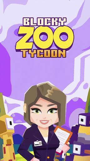 Blocky Zoo Tycoon - Idle Clicker Game! 0.7 Screenshots 1