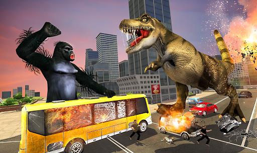 Monster Dino Vs King Kong-City Rampage Simulator 1.0.3 screenshots 3