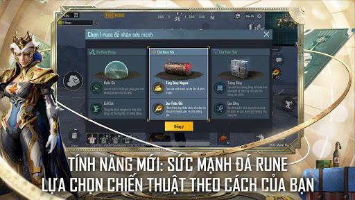 Code Triche PUBG MOBILE VN – SỨC MẠNH ĐÁ RUNE (Astuce) APK MOD screenshots 4