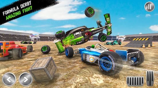 Formula Car Demolition Derby 2021: Car Smash Derby 2.5 screenshots 1