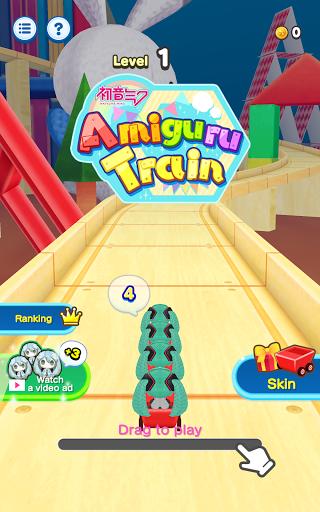 Hatsune Miku Amiguru Train 1.0.1 screenshots 19