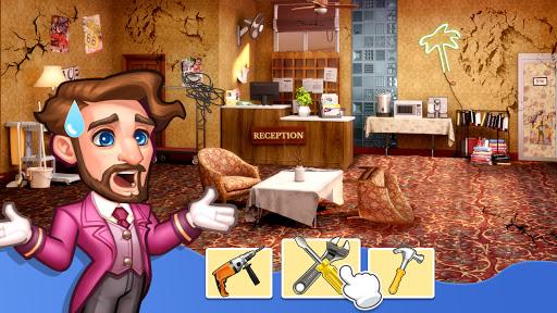 Hotel Frenzy: Design Grand Hotel Empire apkpoly screenshots 10