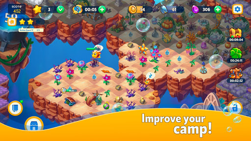 Sea Merge! Fish Aquarium Game & Ocean Puzzle  screenshots 4