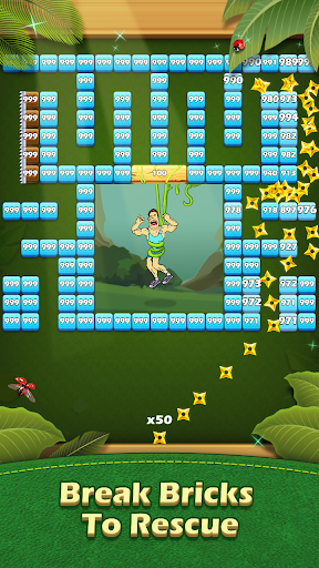 Breaker Fun - Bricks Ball Crusher Rescue Game  screenshots 1