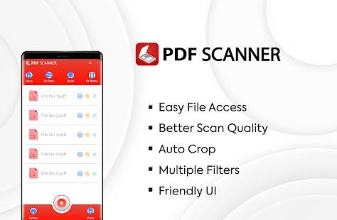 PDF scanner: Scanner Camera: fast document scanner