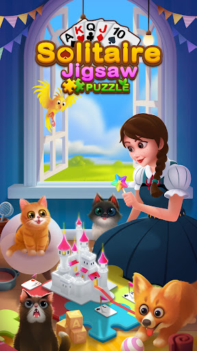 Solitaire Jigsaw Puzzle - Design My Art Gallery  screenshots 7