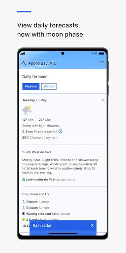 BOM Weather 4.1.0 Screenshots 6