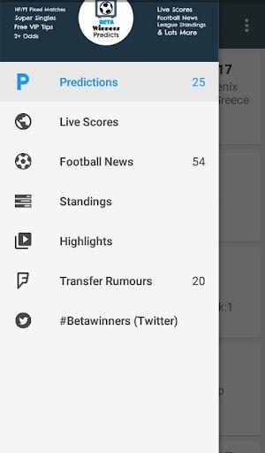 betawinners - betting tips screenshot 1