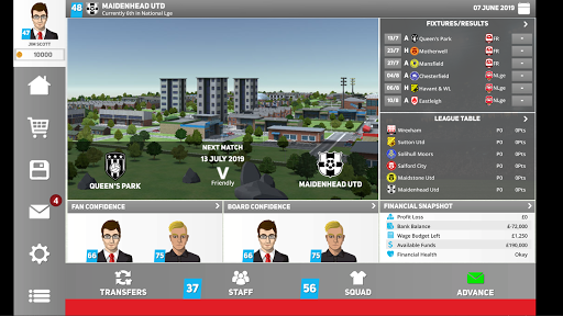 Club Soccer Director 2020 - Soccer Club Manager 1.0.81 Screenshots 17
