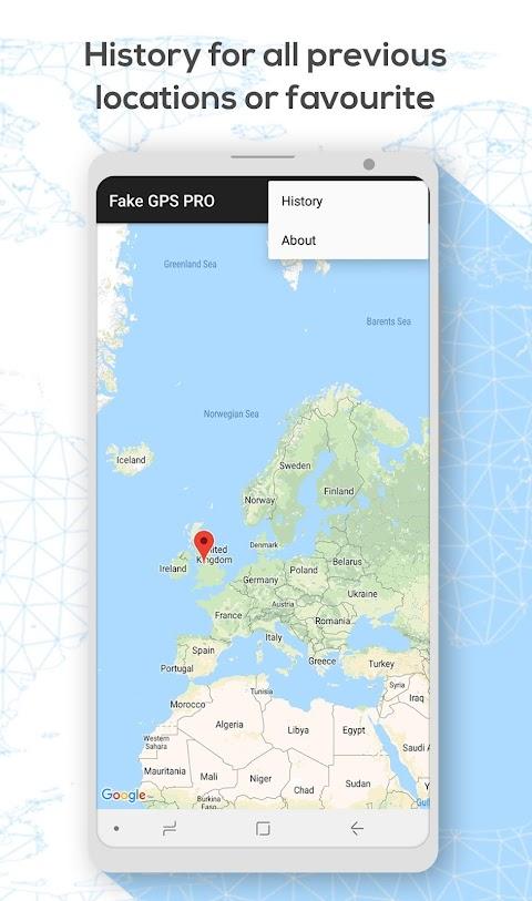 Fake GPS Location PROのおすすめ画像2