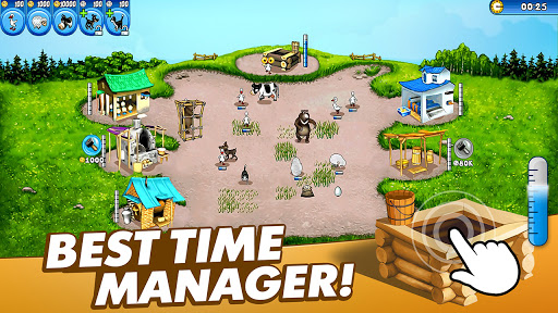 Farm Frenzy Free: Time management games offline 🌻 1.3.6 screenshots 1