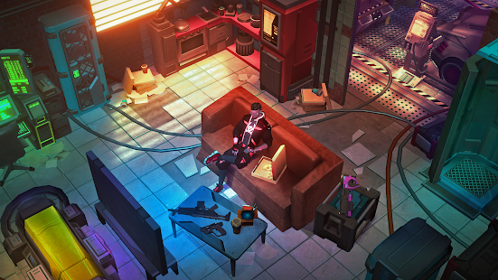 Cyberika: Action Adventure Cyberpunk RPG apk