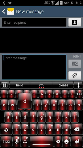 Theme for A.I.type Dusk Red א For PC Windows (7, 8, 10, 10X) & Mac Computer Image Number- 6