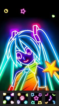 Draw Glow Comicsのおすすめ画像5