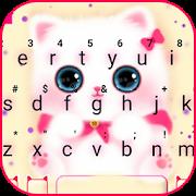 Kawaii Kitty Cute Cat Keyboard Theme