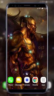 Warrior Live Wallpaper