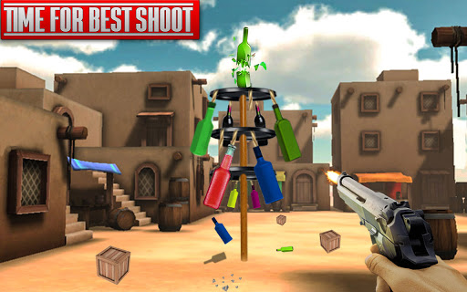 Bottle Shooting Free Games- Shooting Games Offline  Screenshots 4