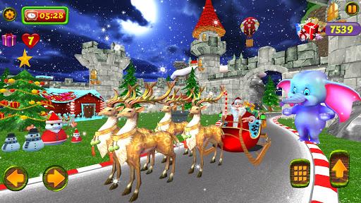 Santa Christmas Infinite Track screenshots 1