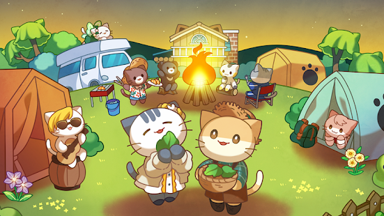Cat Forest - Healing Camp Screenshot