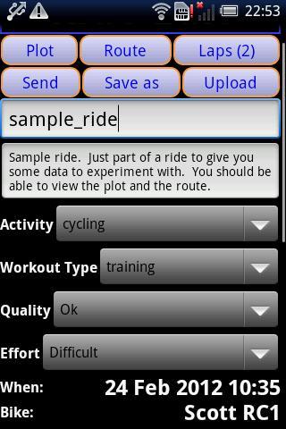 IpBike ANT+u2122 Bike Computer android2mod screenshots 7