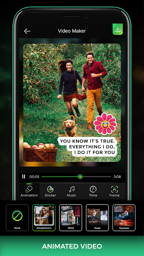 Song Video Maker - Photo Video Maker android2mod screenshots 6
