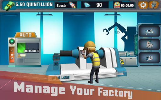 Factory Tycoon : Idle Clicker Game  screenshots 13