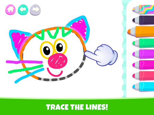 Pets Drawing for Kids and Toddlers games Preschool apkpoly screenshots 18
