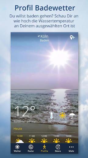 wetter.de u2013 Dein Wetter, immer & u00fcberall android2mod screenshots 4