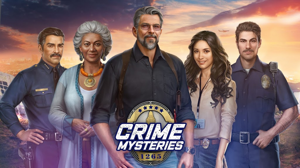 Crime Mysteries™: Find objects & match 3 puzzle poster 12