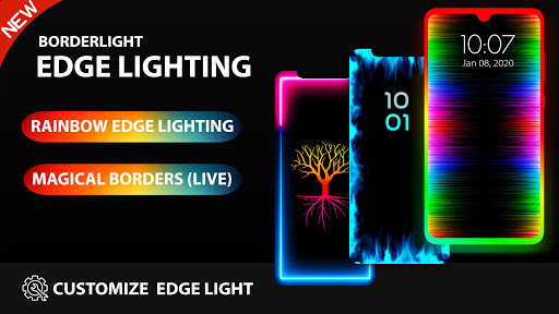 Edge Lighting - Borderlight Live Wallpaper 2.5 Screenshots 7