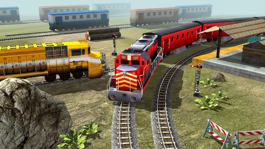 New Train Racing Game 2021 –Offline Train Games 3D 7
