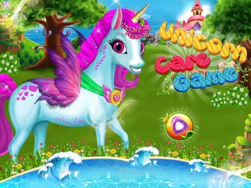 Little Unicorn Care Baby Pony Pet 0.6 screenshots 1