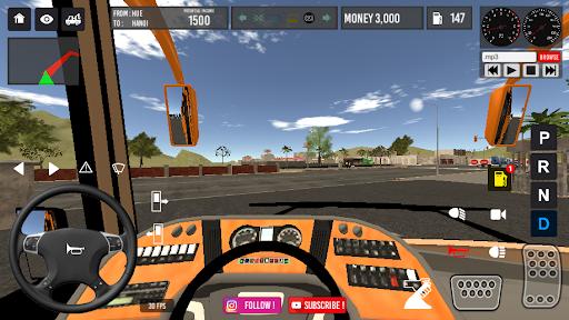 Code Triche Vietnam Bus Simulator (Astuce) APK MOD screenshots 4