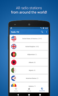 Radio FM Player - TuneFm Screenshot