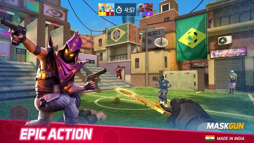 MaskGun Multiplayer Shooting Game - Made in India screen 0