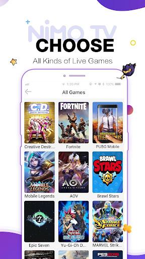 Nimo TV - Live Game Streaming android2mod screenshots 4