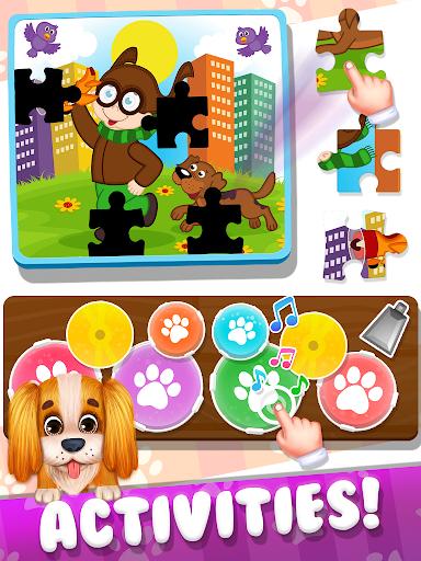 Talking Dog: Cute Puppy Playtime Games screenshots 5