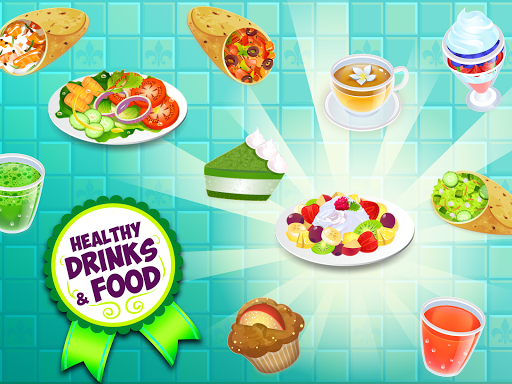 My Salad Bar - Healthy Food Shop Manager apkslow screenshots 13
