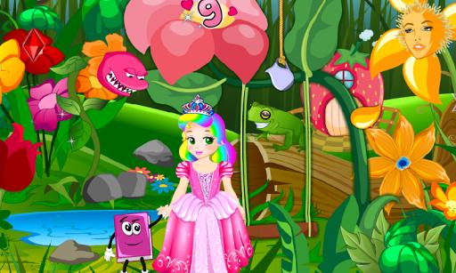 princess juliet wonderland : logic games for kids screenshot 2