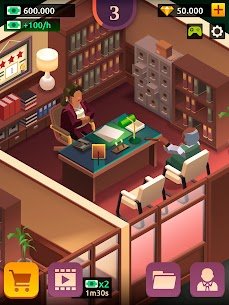 Law Empire Tycoon MOD APK 1.9.1 (Unlimited Money) 12