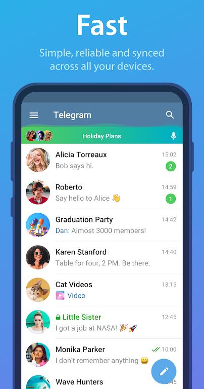 Telegram Mod Lite Latest 2021 poster 0