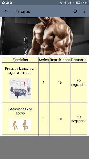 Fitness. Rutinas para el Gym  Screenshots 6